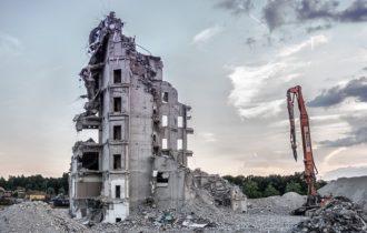 demontaż konstrukcji stalowo-betonowej